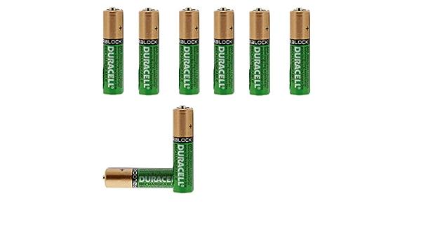 Duracell Duralock Aaa 750mah Ni Mh Akkus Rechargeable Wiederaufladbare Akkus Batterie Küche Haushalt