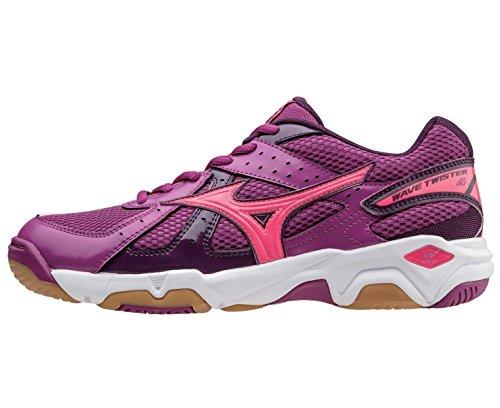 Mizuno Wave Twister 4 Women's Chaussure Sport En Salle - AW15 pink