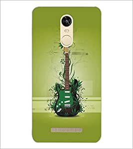 PrintDhaba Guitar D-5483 Back Case Cover for XIAOMI REDMI NOTE 3 PRO (Multi-Coloured)