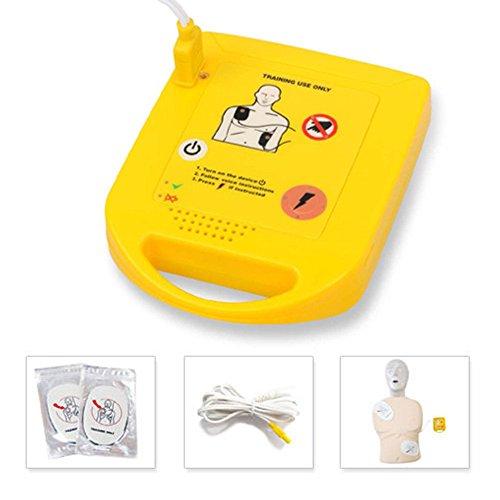 Soja Mini AED Trainer Kits de premiers soins appareil portable automatique Phonétique Enseigner Guide machine lieu de travail Home de...