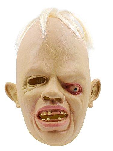 MissFox Halloween Deluxe Novelty Kostüm Party Zyklop Maske Als ()