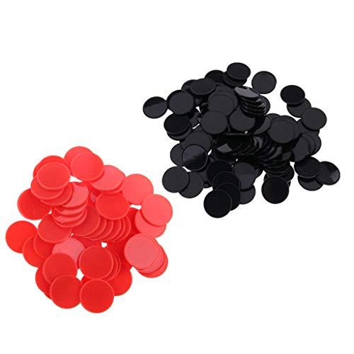 B Blesiya 200pc 25mm Plastic Pok...