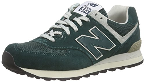 New Balance Wl574, Baskets Basses Homme, Noir