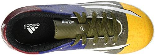 adidas, Scarpe da calcetto uomo (Solar gold-Earth green)