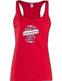 ShirtInStyle Lady Tank Top Beste SCHWÄGERIN der Welt, StampStyle