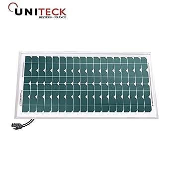 UNISUN 20.12 M - panneau photovoltaique - 20W - 12V - monocristallin - connecteurs MC4