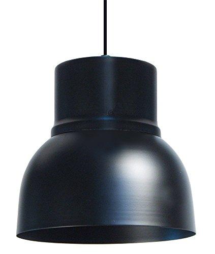 Tosel 14142Glocke 24Hängeleuchte stahl schwarz 24x 24x 90cm 2-teilig