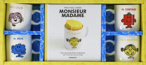 Coffret Les mini mugcakes Monsieur-Madame par Collectif