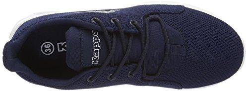 Kappa Tisco II, Sneakers Basses Mixte Adulte Bleu (Navy/white)