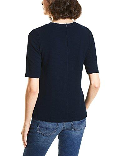 Street One Damen T-Shirt Blau (Night Blue 10109)