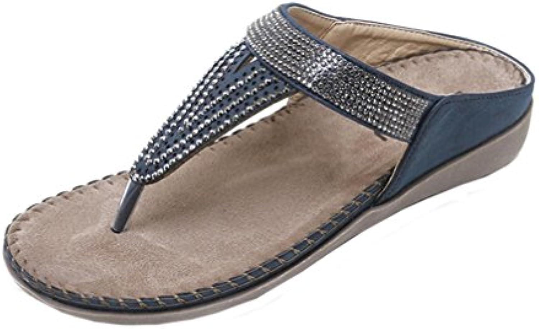 057dfd1510491c les perles amlaiworld femmes femmes femmes sandales chaussures plates  slippe bohème femme escarpins chaussures pantoufle b07d7tfm66 des parents |  Le Moins ...