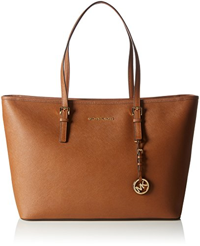 Michael Kors Jet Set Travel, Borsa Tote Donna, Unica Marrone (Luggage)