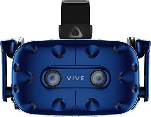 HTC Vive Pro Starter Kit VR-Brille, blau/schwarz, inkl. 2X Controller und 2X