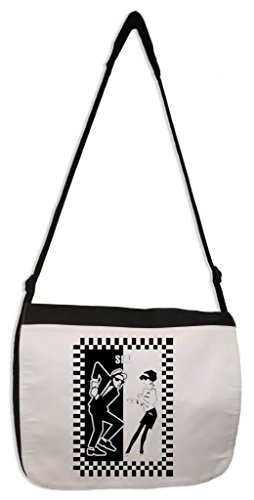 Ska Dancers Laptop Messenger Bag