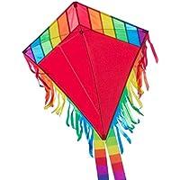 CIM Einleiner-Drachen - Maya Eddy - für Kinder ab 3 Jahren - Abmessung: 65x74cm - inkl. 80m Drachenschnur und 2x250cm Streifenschwänze …