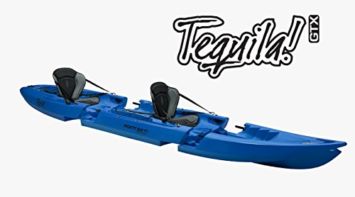 Unbekannt Point 65Tequila Extra Element Parte Central Módulo Kayak erweierung Solo a Tandem, Gris