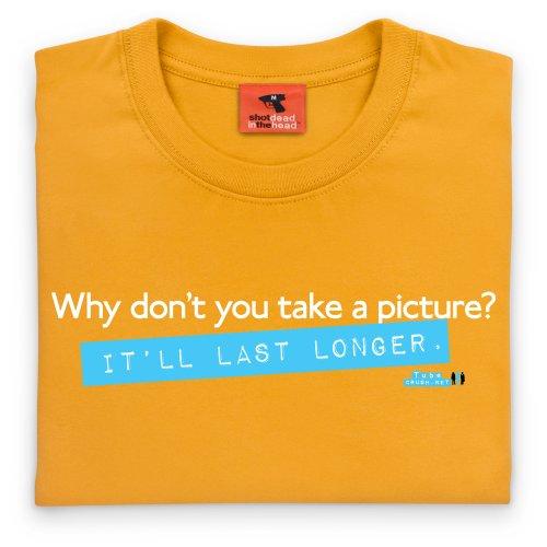 Tube Crush Last Longer T-Shirt, Damen Gelb