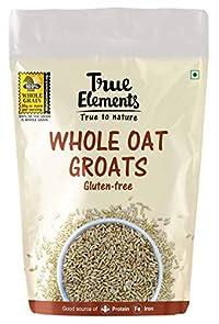 True Elements Whole Oat Groats 1 kg