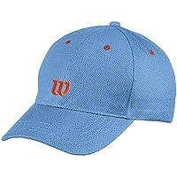 Wilson Gorra juvenil, Youth Tour Cap, 100% algodón, Talla única, Azul, WR5008001