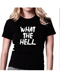 Inspired by Avril Lavigne - What The Hell Grunge T-shirt