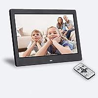 SeeKool Digitaler Bilderrahmen 10 Zoll 1024x768, Display Foto/Musik/Video-Player Kalender Wecker automatischer EIN/aus…
