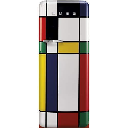 Smeg FAB28RDMC3 frigo combine Autonome Multicolore 270 L A+++ - Frigos combinés (Autonome,...
