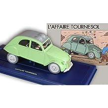 Hergé - Atlas - En voiture Tintin - 06 - L'Affaire Tournesol, la 2 CV des Dupondt