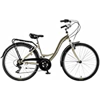 Agece City CTB Grace Bicicleta, Unisex Adulto, Champagne, 17