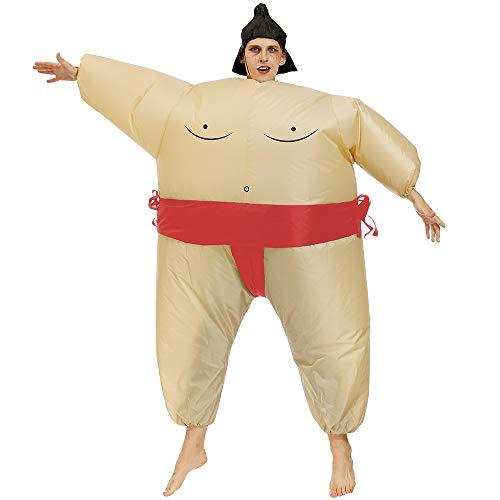 Sumo Baby Erwachsene Aufblasbare Kostüm - LSGNB Sumo Anzug Aufblasbare Kleidung Erwachsenen
