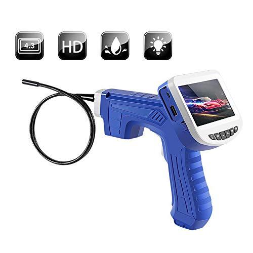 HAIHF Endoscopio, Video Boroscopio Portátil Industrial