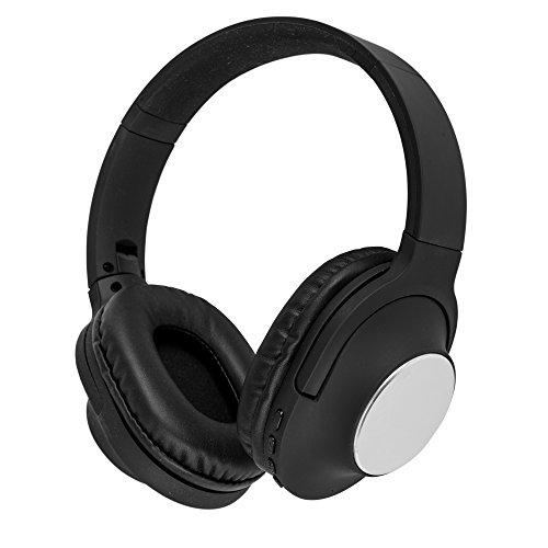 akai A58069wireless cuffie con microfono integrato per Samsung/iPhone/iPad/lettori MP3e tablet–argento