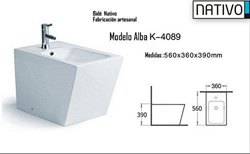 Native Alba k-4089. Bidet Maßnahmen 560x 360x 390, großer Preis-Leistungsverhältnis, die Herstellung handwerkliche...