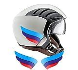 Ali adesive casco tricolore Motorsport compatibili con tutti i caschi BMW