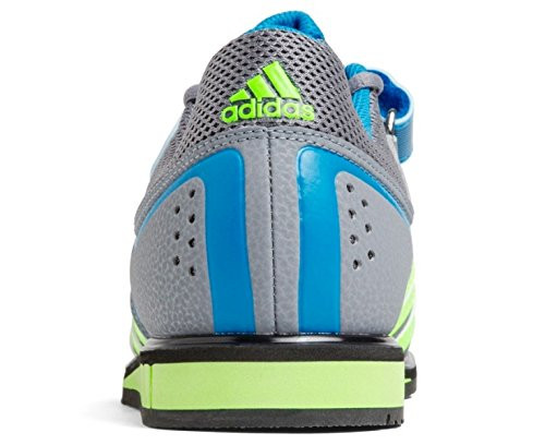Adidas Powerlift 2.0 Weightlifting Schuh grey/green/blue