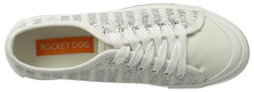 Rocket Dog Damen Jumpin Sneaker Silber (sunrise Silver)