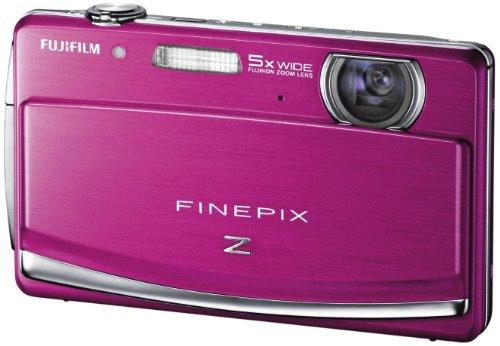 Fujifilm FINEPIX Z90 Digitalkamera (14 Megapixel, 5-fach opt. Zoom, 7,6 cm (3 Zoll) Display) pink