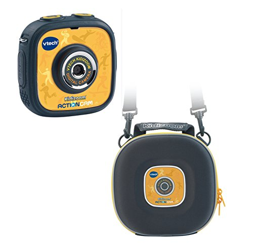 Preisvergleich Produktbild VTech 80-170794 - Kidizoom Action Cam mit Tragetasche, gelb/schwarz