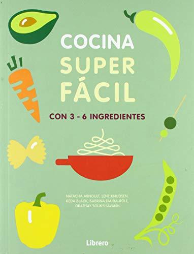 COCINA SUPER FACI. 3-6 INGREDIENTES: 129 RECETAS