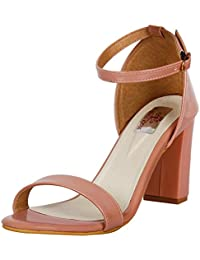 AUTHENTIC VOGUE Women's Ankle Strap Sandals-4 inch High Heel
