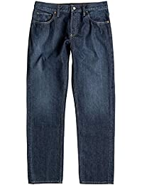 Jeans Dc Worker Relaxed Stone Wash (34 Taille = Fr 42 , Bleu)