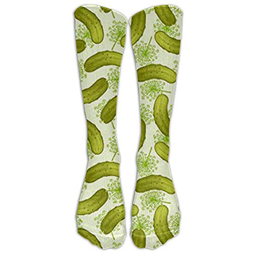 Dill Pickles Winter Compression Socks For Men & Women - BEST For Running, Nurses, Shin Splints, Flight Travel, Skiing & Maternity Pregnancy - Boost Athletic Stamina & Recovery -