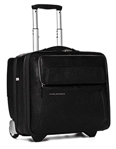 Cartable porte-ordinateur et porte-iPad/iPad®Air avec système trolley et fermeture de sécurité noir CA1452UP/N