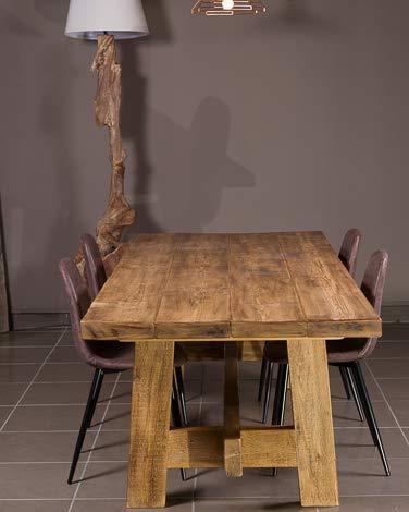 Vendita Tavoli In Legno Grezzo.Xlab Design Tavolo In Legno Grezzo Planar 250x100x75