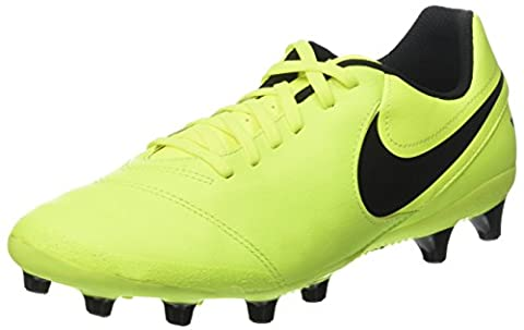 Nike Herren Tiempo Genio II Leather AG-Pro Fußballschuhe, Gelb (Vert Volt/Black-Vert Volt), 44 EU