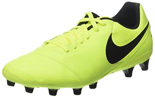 Nike Tiempo Genio II Leather AG-PRO, Scarpe da Calcio Uomo, Giallo Black-Vert Volt, 41 EU