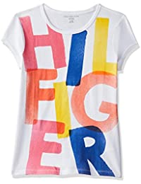 Tommy Hilfiger Girls' Plain Regular Fit T-Shirt