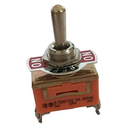 Sharplace 3 Pins Wippe Kippschalter 15A AC Ein aus Schalter 3 Position PDT Auto-LKW-Boot