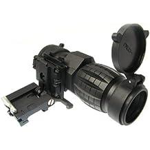 Táctico 3x lupa alcance W/con tapa para lateral de ajuste 20mm Rail vista Airsoft