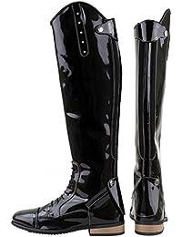 Botas de equitación Horka Bonny Junior, negro, 36EU Wide Calf