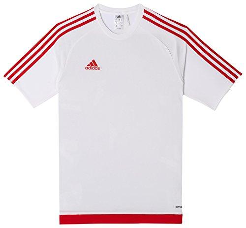 adidas Herren Fußballtrikot Estro 15, Weiß/rot, XL, S16166 -